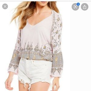 Free people bell shirt